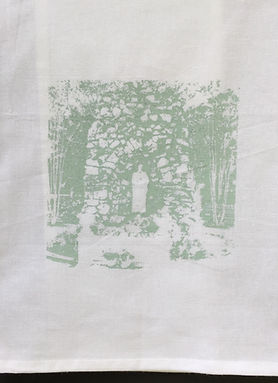 GROTTO SSA TEA TOWEL ROBIN'S EGG BLUE