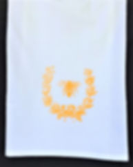 NAPOLEONIC BEE TEA TOWEL GOLDEN