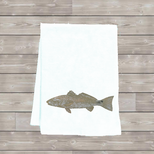 REDFISH TEA TOWEL