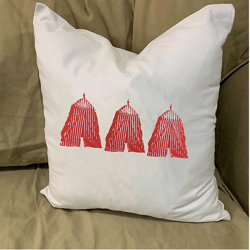 THREE CABANAS PILLOW WITH FEATHER INSERT