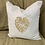 Thumbnail: MONSTERA LEAF PILLOW WITH FEATHER INSERT ( SWISS CHEESE PLANT LEAF )