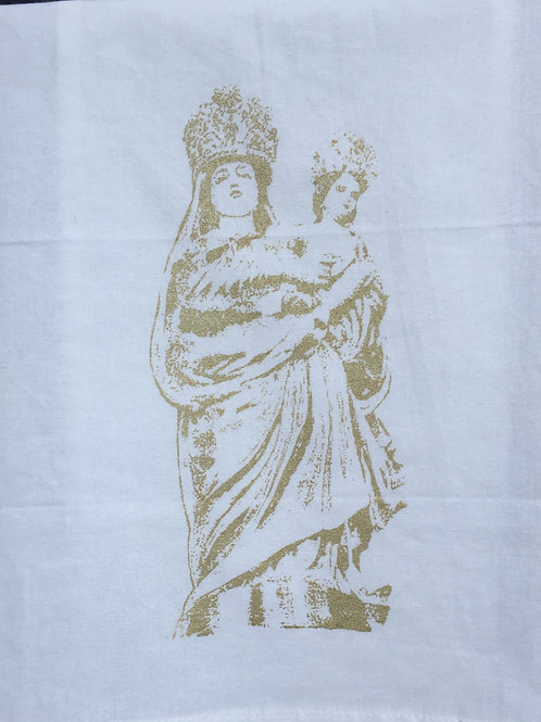 OUR LADY OF PROMPT SUCCOR TEA TOWEL