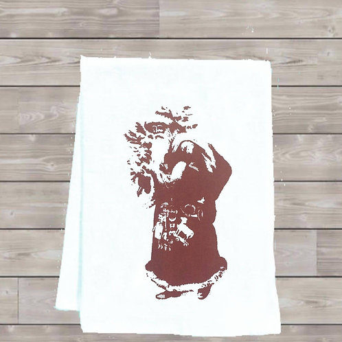SANTA CLAUSE TEA TOWEL