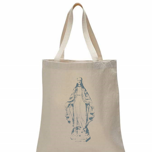 BLESSED MOTHER MARY  TOTE BAG