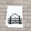 Thumbnail: ACADEMY OF SACRED HEART GATE TEA TOWEL