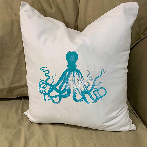 OCTOPUS PILLOW WITH FEATHER INSERT