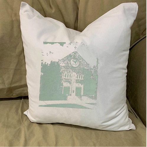 ST PETER CHURCH PILLOW WITH FEATHER INSERT