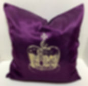 KING'S CROWN PILLOW