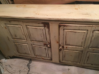 Buffet Sideboard Before Faux Finishing