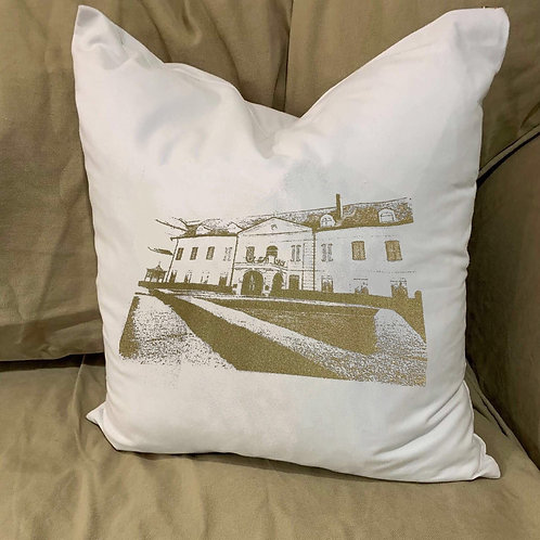 URSULINE CONVENT PILLOW WITH FEATHER INSERT