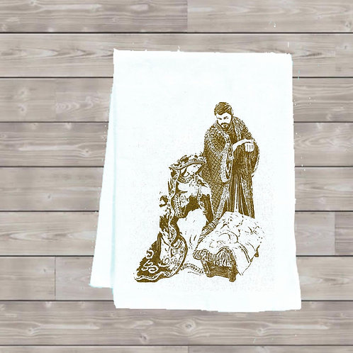 2019 NATIVITY TEA TOWEL