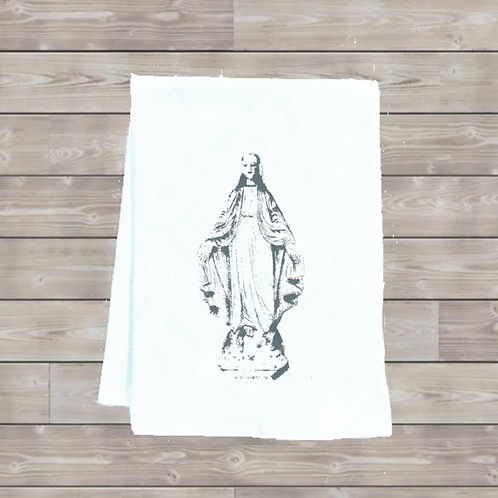 BLESSED MOTHER MARY TEA TOWEL