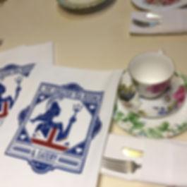 THE ENGLISH TEA ROOM TEA TOWELS & APRONS COVINGTON, LA 