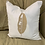 Thumbnail: BANANA LEAF PILLOW WITH FEATHER INSERT