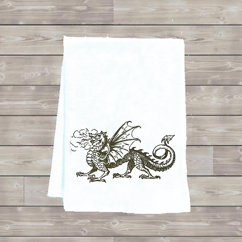 DRAGON TEA TOWEL