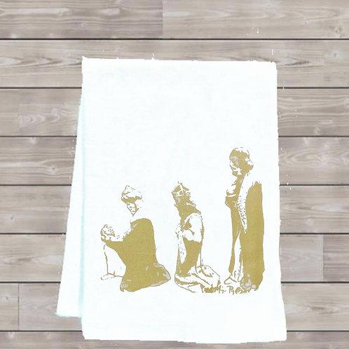 THREE KINGS TEA TOWEL