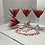 Thumbnail: HAND-LEAFED MARTINI GLASS  (1 glass)