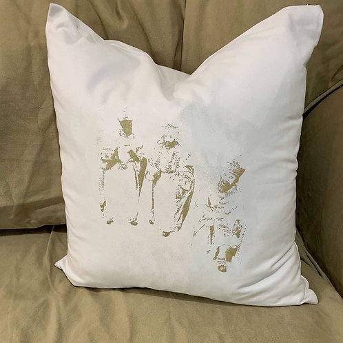 WISEMEN THREE KINGS 2018 PILLOW WITH FEATHER INSERT