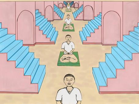 Meditation Space Creative Process