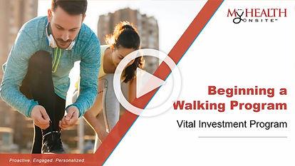 Beginning a Walking Program
