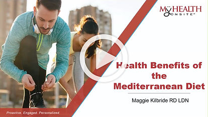 Health Benefits of the Mediterranean Diet