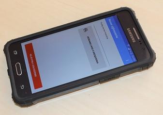 Dedykowana aplikacja mobilna do rejestracji zgłoszeń przez Klienta