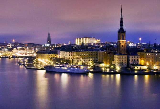 Stockholm, the Capital and Largest City in Sweden