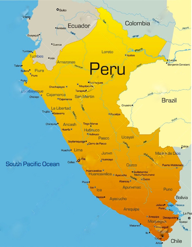 Peru is rich and diverse history...