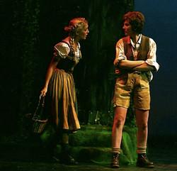 Hänsel und Gretel: Waldszene
