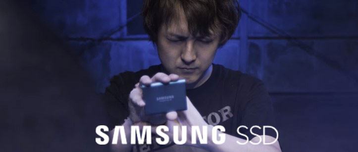 Samsung SSD promotion video with DETONATOR