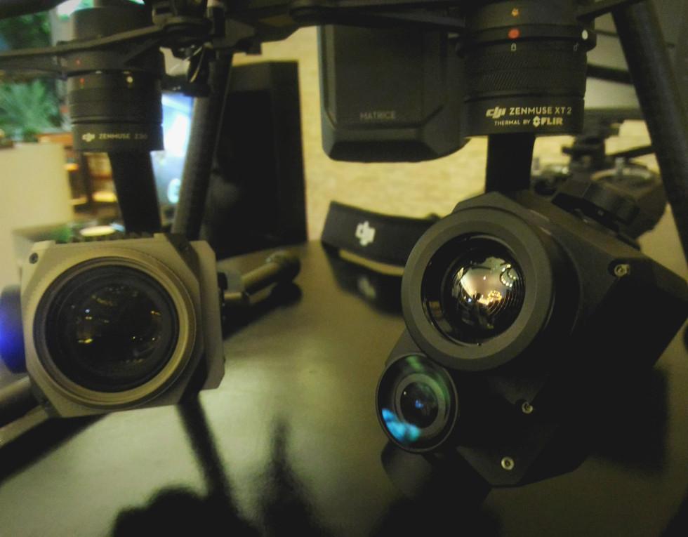 DJI Zenmuse Z30 és XT2