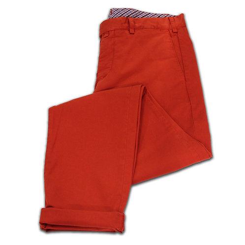 Pantalon Chino Orange