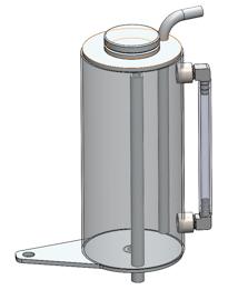 2G DSM Coolant Overflow Tank