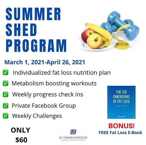 Summer Shed Program