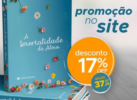 Promoção: Livro A Imortalidade da alma