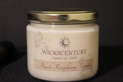 Black Raspberry Vanilla-12 oz Classic Soy Candles