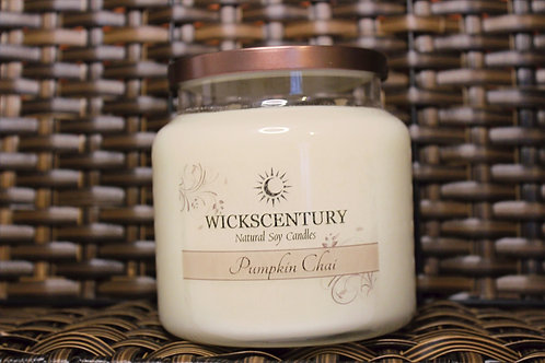 Pumpkin Chai- 20 oz Platform Soy Candles