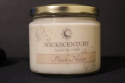 Peach Nectar-12 oz Classic Soy Candles