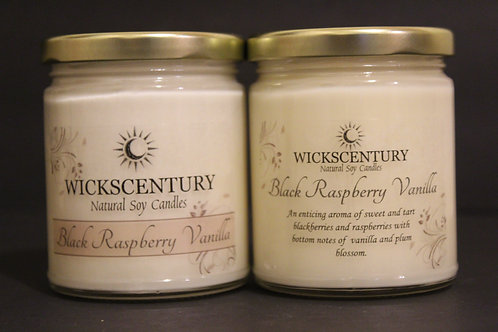 9 oz Classic Candles-Black Raspberry Vanilla