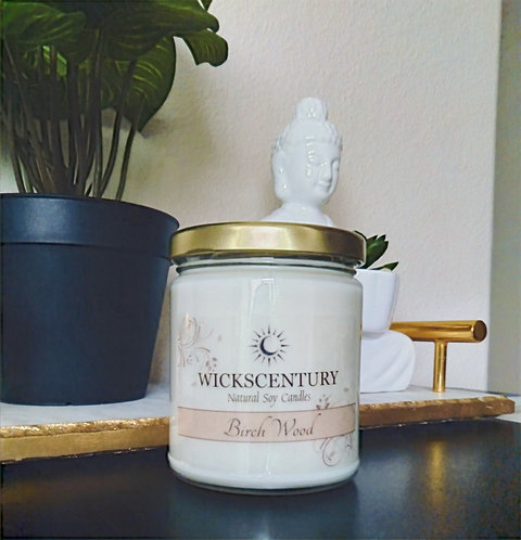 Birch Wood-9 oz Classic Soy Candles