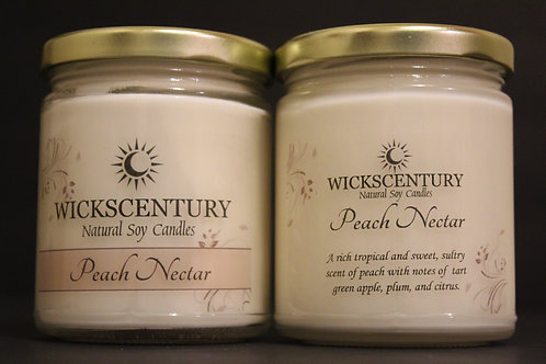 Peach Nectar-9 oz Classic Candles
