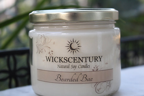Bearded Bae-12 oz Classic Soy Candles