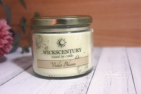 Violet Bloom-12 oz Classic Soy Candle