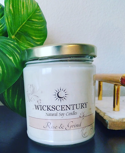 Rise & Grind- 9 oz Classic Soy Candles