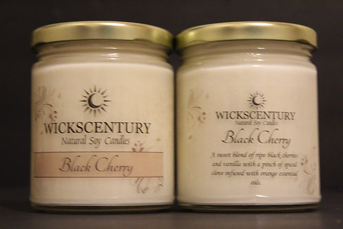 9 oz Classic Candles-Black Cherry