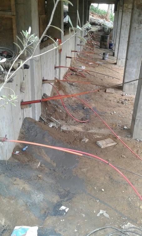Anclajes de cable
