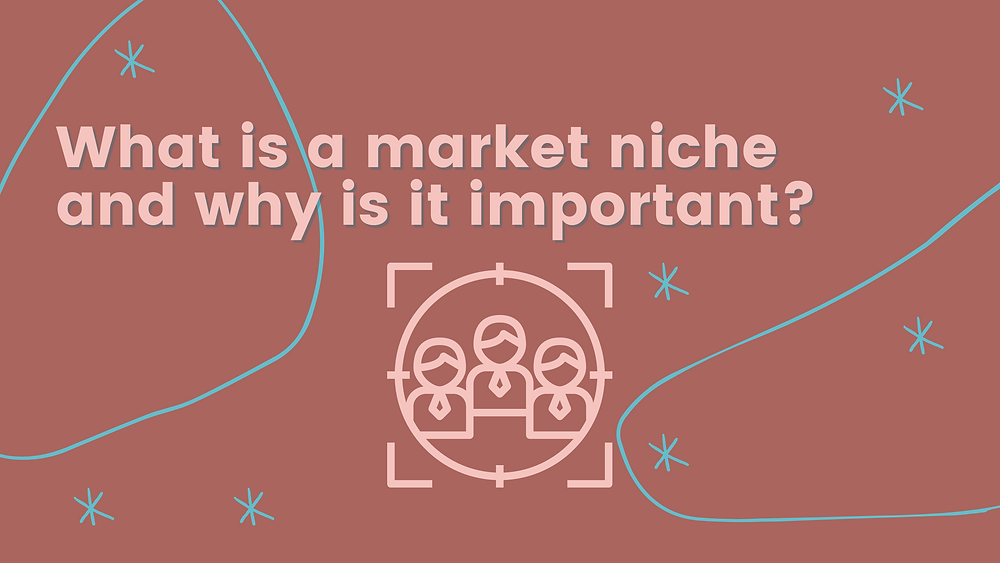 What is a market niche and why is it important for content creators
