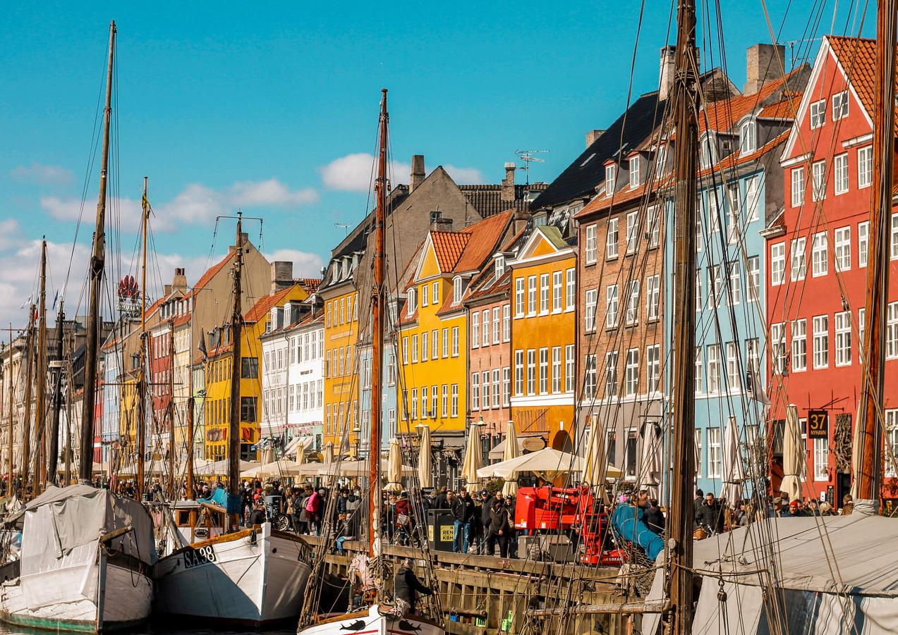 Nyhavn Harbor - Copenhagen, Denmark