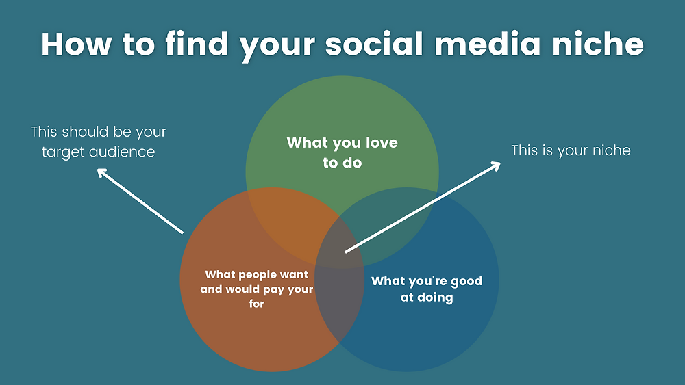 How to find your social media niche and target audience