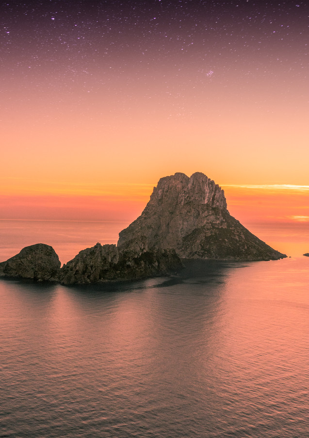 Sunset in Es Vedrá, Ibiza